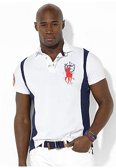 Polo Ralph Lauren Big & Tall Classic-Fit Big Pony Coastal Rescue Polo