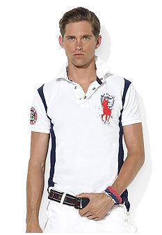 Polo Ralph Lauren Custom-Fit Big Pony Coastal Rescue Polo