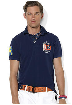 Polo Ralph Lauren Custom-Fit Rescue Patrol Mesh Polo