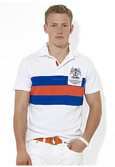 Polo Ralph Lauren Custom-Fit Ocean Patrol Striped Rugby