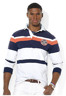 Polo Ralph Lauren Custom-Fit Scepter Striped Rugby