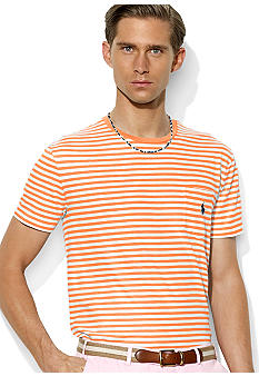 Polo Ralph Lauren Medium-Fit Striped Jersey Pocket Crewneck