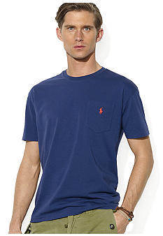 Polo Ralph Lauren Classic-Fit Crewneck Pocket T-Shirt