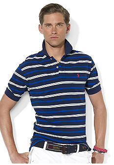 Polo Ralph Lauren Classic-Fit Multi-Striped Mesh Polo