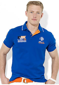 Polo Ralph Lauren RLX Offshore Sailing Mesh Polo