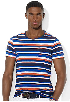 Polo Ralph Lauren Striped Jersey Ringer Crewneck