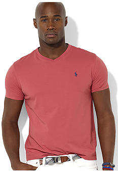 Polo Ralph Lauren Big & Tall Classic-Fit Short-Sleeved Cotton Jersey V-Neck Tee
