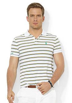 Polo Ralph Lauren RLX Striped Stretch-Piqu Polo Shirt