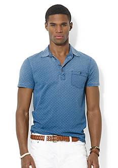 Polo Ralph Lauren Diamond-Print Jersey Polo Shirt