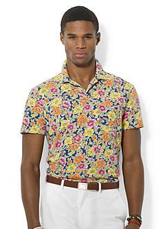 Polo Ralph Lauren Floral-Print Jersey Polo Shirt
