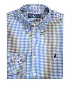 Polo Ralph Lauren Classic-Fit Poplin Check Shirt