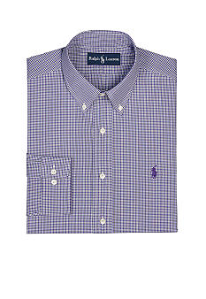Polo Ralph Lauren Classic-Fit Tattersall Dress Shirt