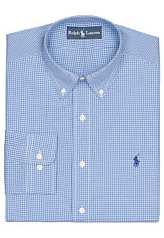 Polo Ralph Lauren Classic-Fit Checked Dress Shirt