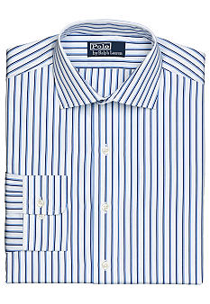Polo Ralph Lauren Classic-Fit Regent Striped Poplin Dress Shirt