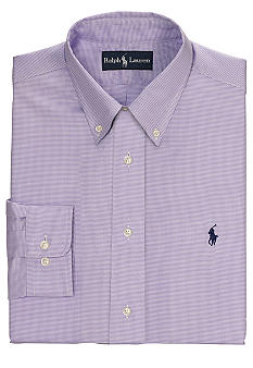 Polo Ralph Lauren Classic-Fit Houndstooth Dress Shirt