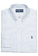 Polo Ralph Lauren Classic-Fit Tattersall Oxford Dress Shirt