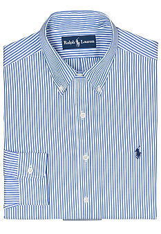 Polo Ralph Lauren Classic-Fit Stripe Oxford Dress Shirt