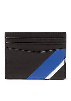 Polo Ralph Lauren Striped Leather Card Case