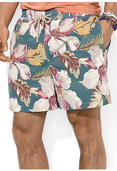 Polo Ralph Lauren Traveler Hibiscus-Print Swim Short