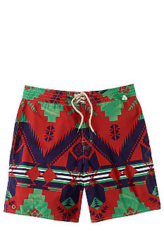 Polo Ralph Lauren Printed Cayman Swim Trunks
