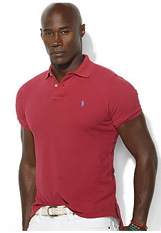 Polo Ralph Lauren Big & Tall Classic-Fit Cotton Mesh Polo
