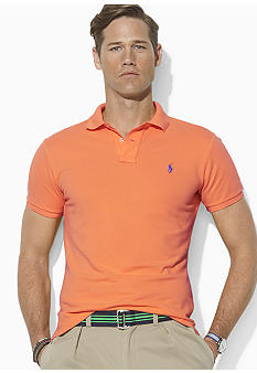 Polo Ralph Lauren Big & Tall Classic-Fit Short-Sleeved Mesh Polo