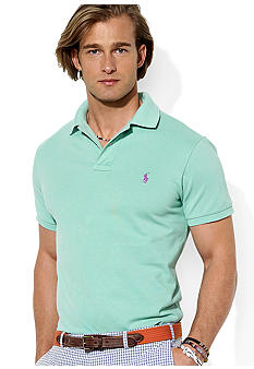 Polo Ralph Lauren Custom-Fit Cotton Mesh Polo