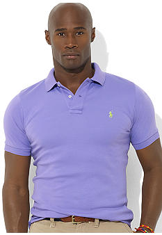 Polo Ralph Lauren Big & Tall Classic-Fit Short-Sleeved Cotton Interlock Polo