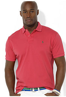 Polo Ralph Lauren Big & Tall Classic-Fit Short-Sleeved Interlock Polo