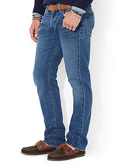 Polo Ralph Lauren Varick Slim-Fit Cedar-Wash Jean