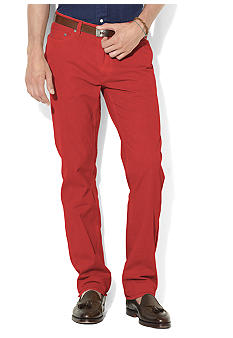 Polo Ralph Lauren Straight-Fit Five-Pocket Chinos