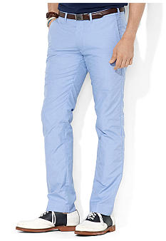Polo Ralph Lauren Slim G.I. Micro-Checked Poplin Pants