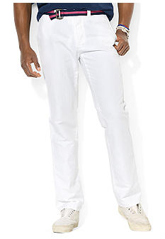 Polo Ralph Lauren Officer's Cotton-and-Linen Canvas Pant