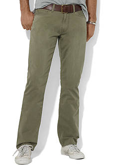 Polo Ralph Lauren Straight Fit Chino Flat Front Pants