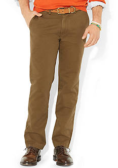 Polo Ralph Lauren Classic-Fit Flat-Front Chino Pants