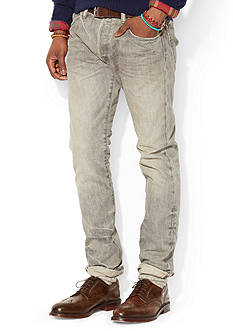 Polo Ralph Lauren Varick Slim-Fit Ash GreyWash Jean