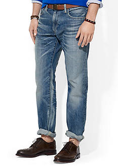 Polo Ralph Lauren Hampton Straight-Fit Milton-Wash Jean