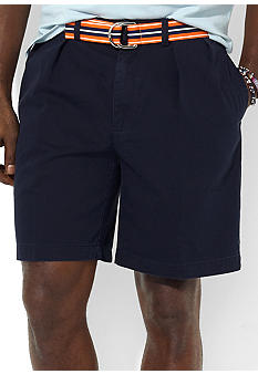 Polo Ralph Lauren Big & Tall Tyler Vintage Chino Pleated Shorts