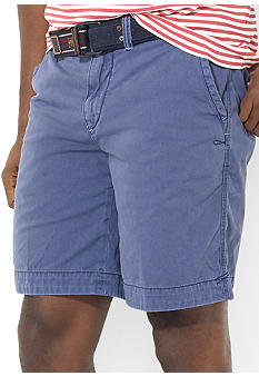 Polo Ralph Lauren Big & Tall Bleecker Rugged Chino Shorts