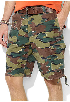 Polo Ralph Lauren Surplus Chino Camo-Print Corporal Shorts
