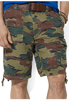 Polo Ralph Lauren Big & Tall Corporal Camo Chino Shorts