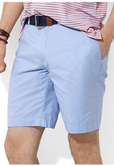 Polo Ralph Lauren Fine-Striped Poplin Slim G.I. Shorts