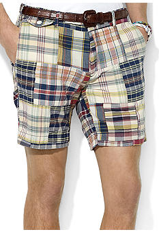 Polo Ralph Lauren Slim G.I. Patchwork Madras Shorts