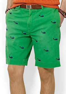 Polo Ralph Lauren Classic-Fit Embroidered Chino Short