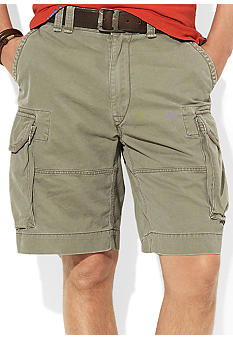 Polo Ralph Lauren Big & Tall Gellar Fatigue Vintage Chino Shorts