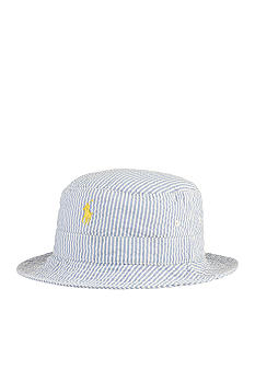 Polo Ralph Lauren Seersucker Beachside Bucket Hat