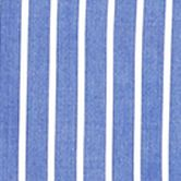 Mens Designer Shirts: Navy Stripe Polo Ralph Lauren POPLIN 701 BLUE/WHITE