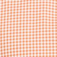 St Patricks Day Outfits For Men: Orange Gingham Polo Ralph Lauren POPLIN 102G PERI GING