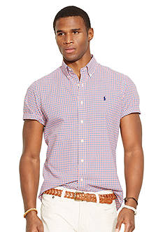 Polo Ralph Lauren Short Sleeved Checked Shirt