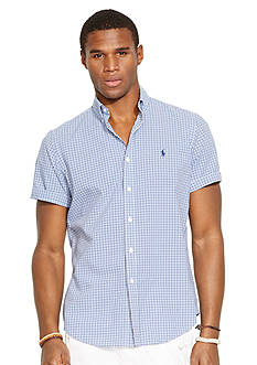 Polo Ralph Lauren Short Sleeved Checked Shirt